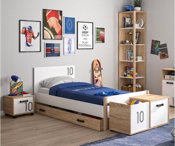 Gami Kyllian Sonoma Oak Bed Frame