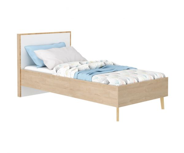 Gami Larvik Blond Oak Bed Frame