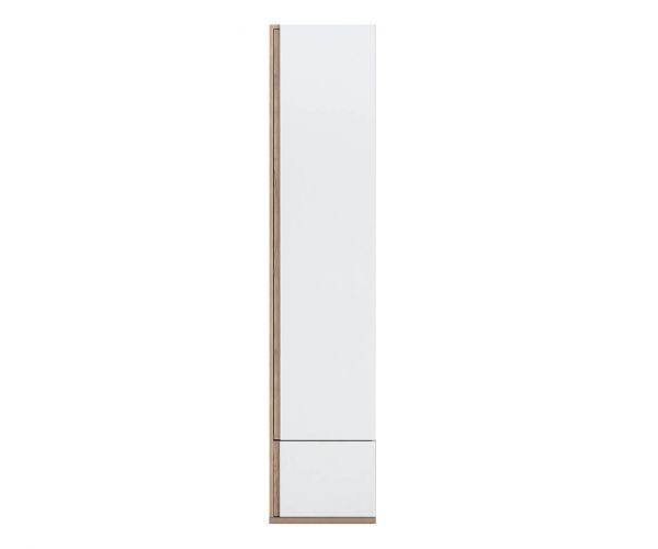 Gami Nestor White 1 Door 1 Drawer Wardrobe