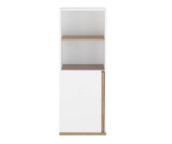Gami Nestor White 1 Door 2 Compartments Unit