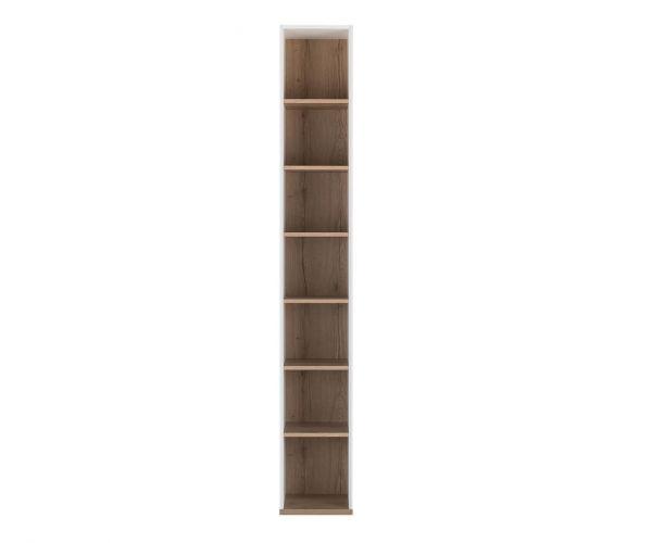 Gami Nestor White Tall Bookcase
