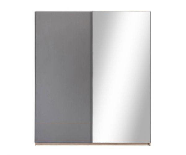Gami Nestor Grey 2 Door Sliding Wardrobe