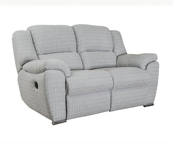 Buoyant Upholstery Blake Fabric 2 Seater Recliner Sofa