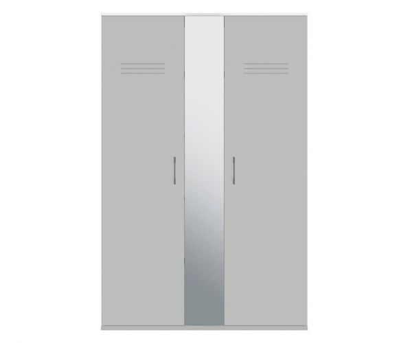 Gami Ugo Moon Grey 2 Door Wardrobe