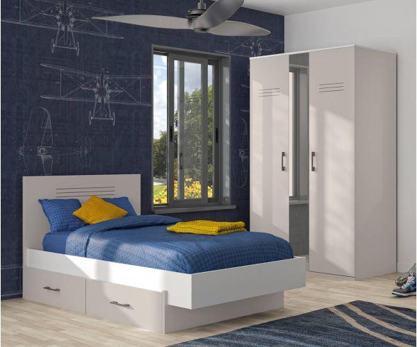 Gami Ugo Moon Grey Bed Frame