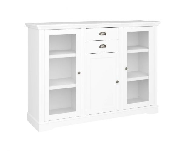 Steens Venice White 3 Door 2 Drawer Sideboard