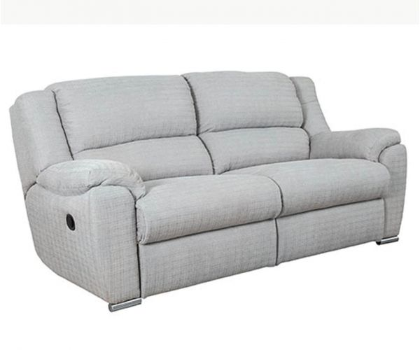 Buoyant Upholstery Blake Fabric 3 Seater Recliner Sofa