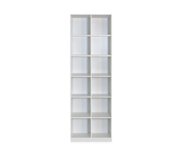 Steens Boxy White 2+6 Display Unit