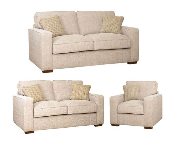 Buoyant Upholstery Chicago Fabric 3+2+1 Sofa Set
