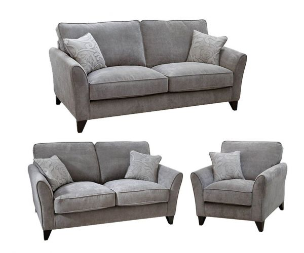 Buoyant Upholstery Fairfield Fabric 3+2+1 Sofa Set