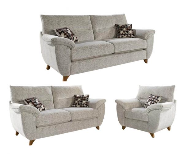 Lebus Carrie Fabric 3+2+1 Sofa Set