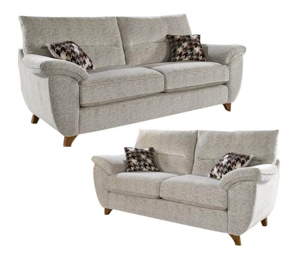 Lebus Carrie Fabric 3+2 Sofa Set