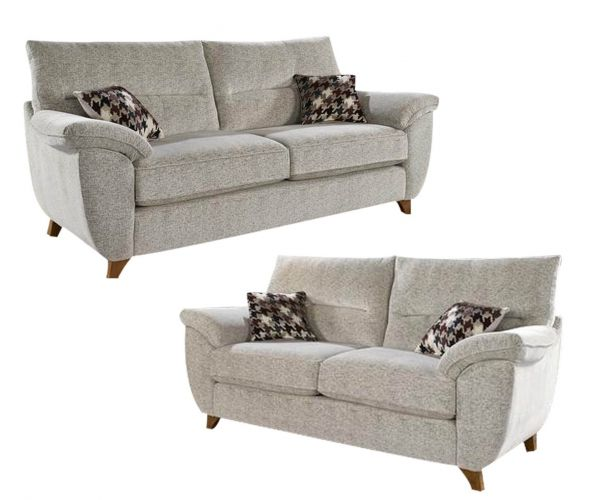 Lebus Billie High Back Fabric 3+2 Sofa Set