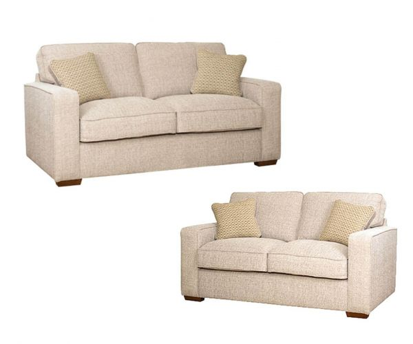 Buoyant Upholstery Chicago Fabric 3+2 Sofa Set