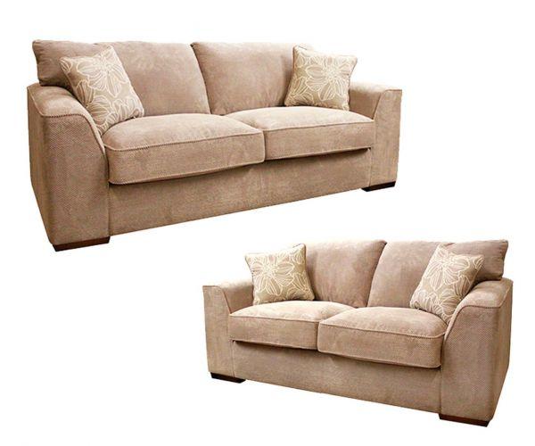 Buoyant Upholstery Newark Fabric 3+2 Sofa Set