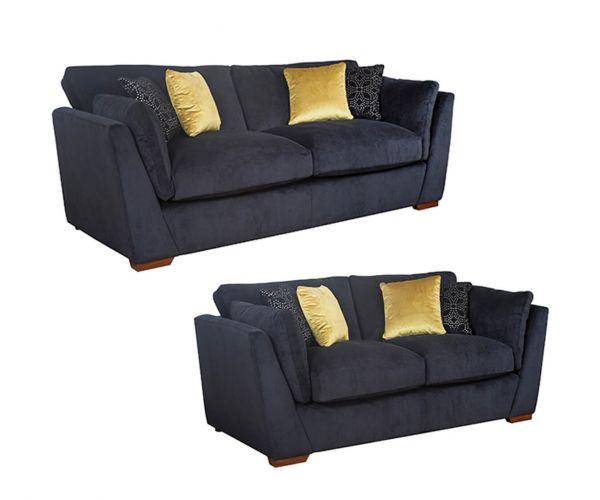 Buoyant Upholstery Phoenix Fabric 3+2 Sofa Set