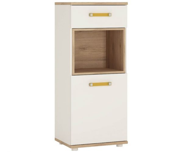 FTG 4 Kids 1 Door 1 Drawer Narrow Cabinet