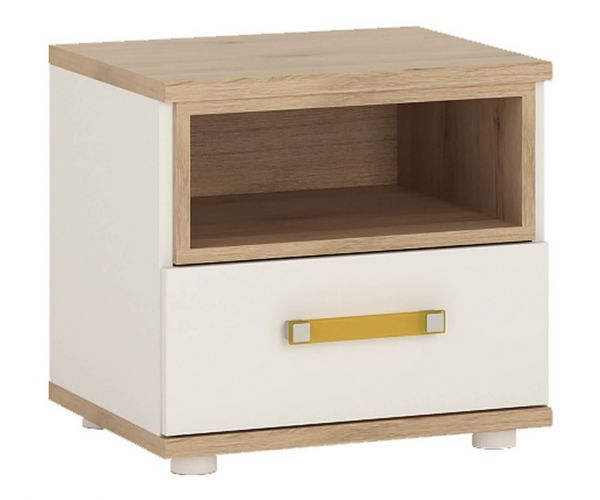 FTG 4 Kids 1 Drawer Bedside Cabinet