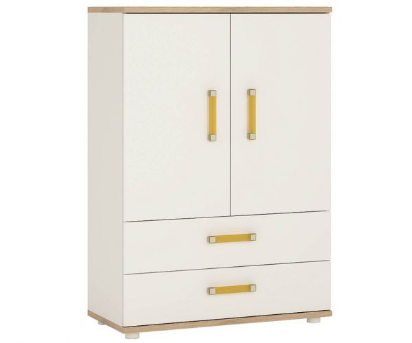 FTG 4 Kids 2 Door 2 Drawer Cabinet