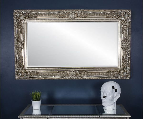 Derrys Furniture Romo Antique Silver Mirror