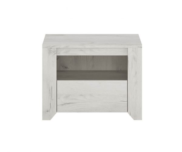 FTG Angel 1 Drawer Bedside Cabinet