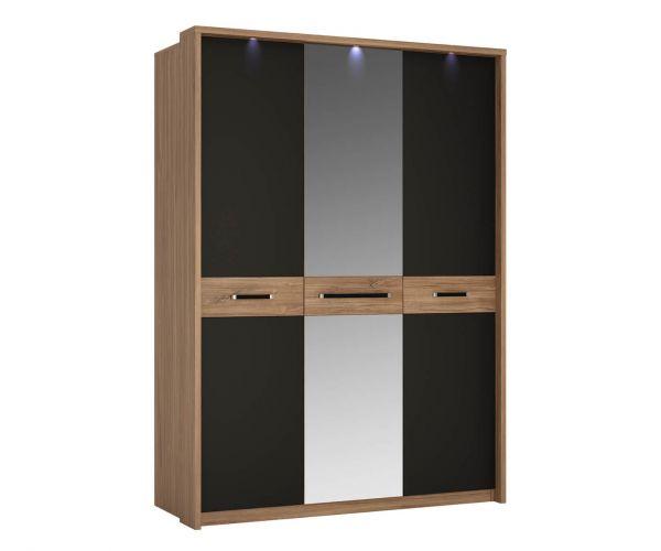 FTG Monaco 3 Door Wardrobe with Mirror Door