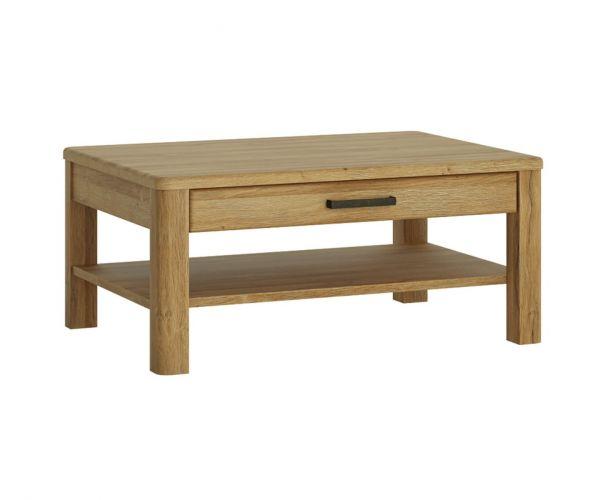 FTG Cortina Grandson Oak 1 Drawer Coffee Table
