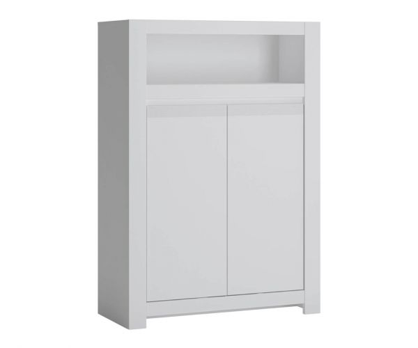 FTG Novi Alpine White 2 Door Cabinet