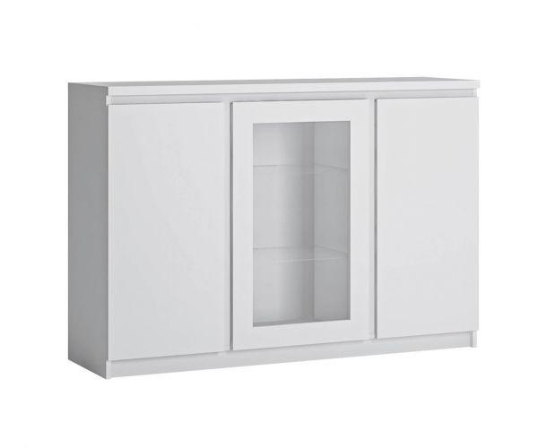 FTG Fribo White 3 Door Sideboard
