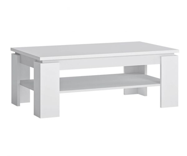 FTG Fribo White Large Coffee Table
