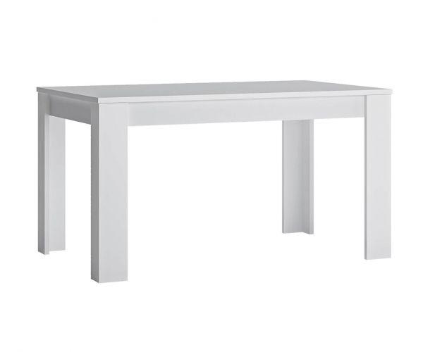 FTG Fribo White Extending Dining Table