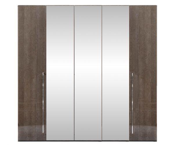 Camel Group Elite Silver Birch 5 Door Mirror Wardrobe