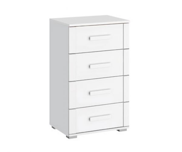 Rauch Rivera Alpine White 4 Drawer Chest