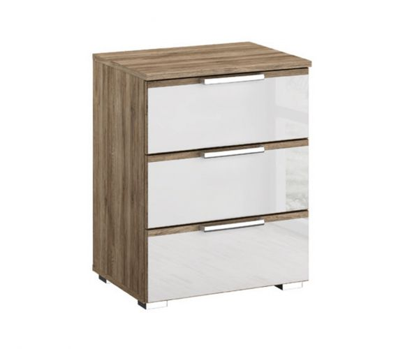 Rauch Terano 3 Drawer Bedside Table