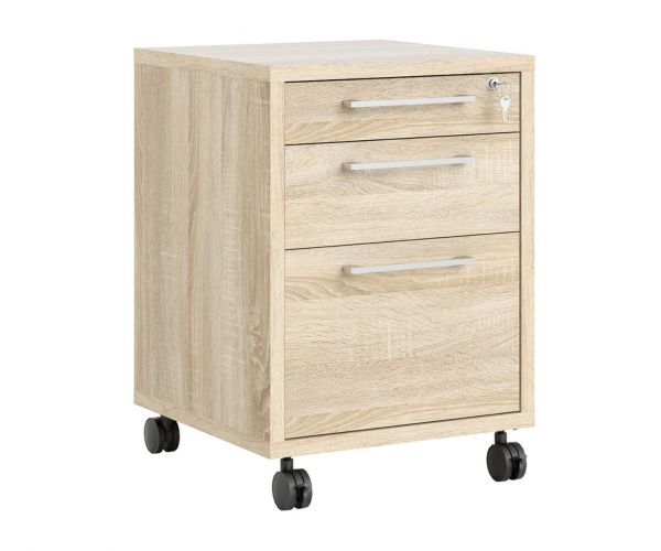 FTG Prima Oak Mobile File Cabinet