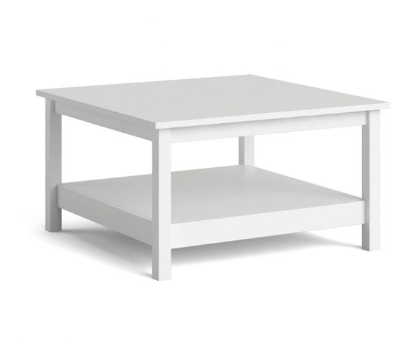 FTG Barcelona White Coffee Table