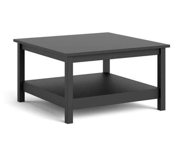 FTG Barcelona Matt Black Coffee Table