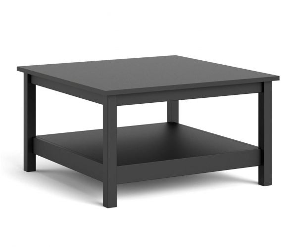 FTG Madrid Matt Black Coffee Table