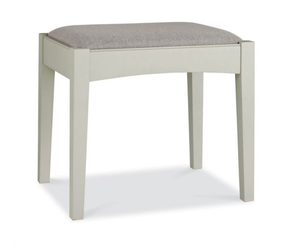 Bentley Designs Hampstead Soft Grey and Pale Oak Stool