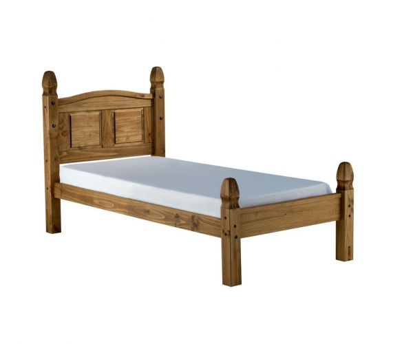 Birlea Furniture Corona Pine Low Footend Wooden Bed Frame