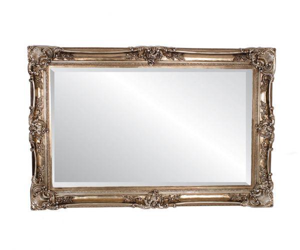 Derrys Furniture Paige Antique Silver Mirror