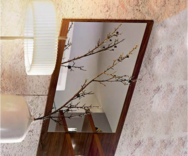 Rauch Aditio Metallic Grey Wall Mirror