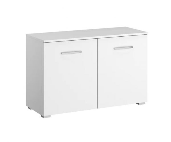 Rauch Aditio 2 Door Chest with High Polish White Front