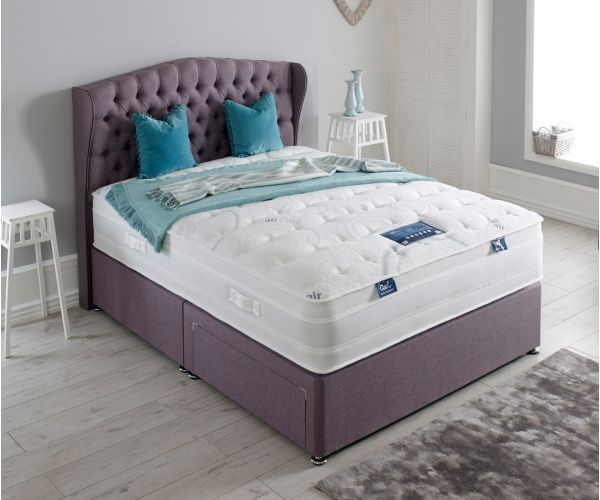 Dura Beds Air Plus Gel 2000 Pocket Sprung Divan Bed Set