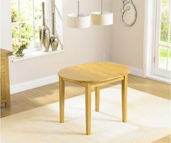 Mark Harris Alaska Solid Hardwood Extending Dining Table Only