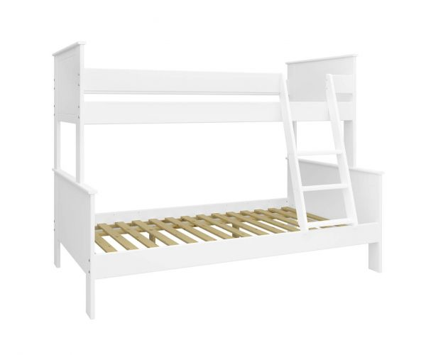Steens Alba Kids White Family Bunk Bed Frame