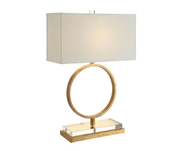 Derrys Furniture Aldrich White Table Lamp