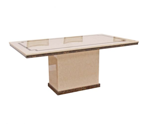 Vida Living Alfredo Small Dining Table Only