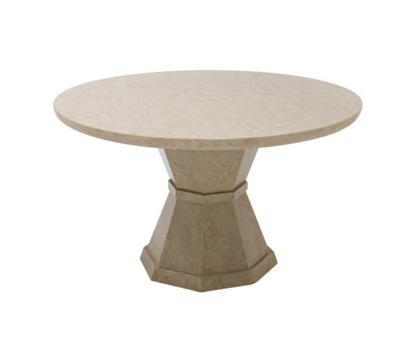 Vida Living Alfredo Round Dining Table Only