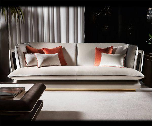 Adora Allure Italian 3 Seater Sofa